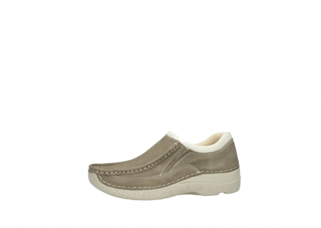 wolky instappers 06206 roll sneaker 10150 taupe nubuck_24