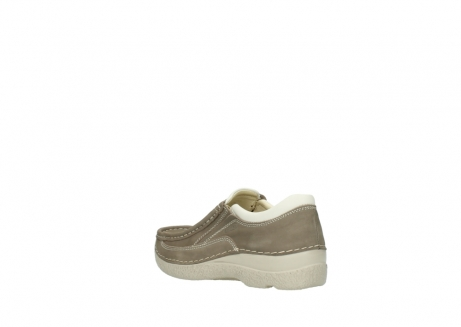 wolky instappers 06206 roll sneaker 10150 taupe nubuck_4