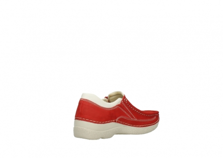 wolky slippers 06206 roll sneaker 10570 rot sommer nubuk_10