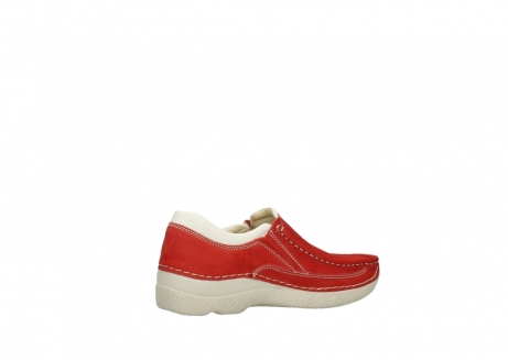 wolky slippers 06206 roll sneaker 10570 rot sommer nubuk_11