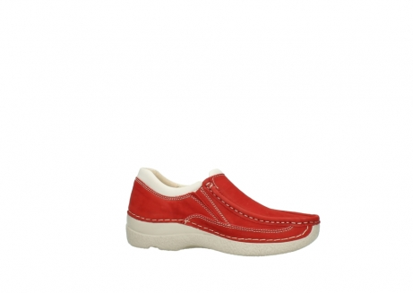 wolky slippers 06206 roll sneaker 10570 rot sommer nubuk_14