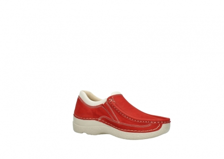 wolky slippers 06206 roll sneaker 10570 rot sommer nubuk_15