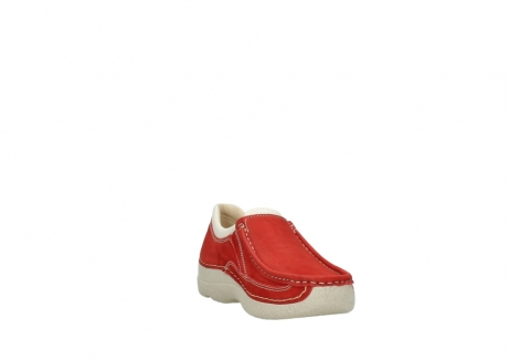 wolky slippers 06206 roll sneaker 10570 rot sommer nubuk_17