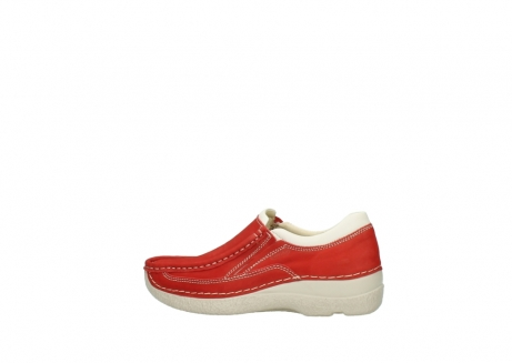 wolky slippers 06206 roll sneaker 10570 rot sommer nubuk_2