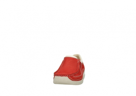 wolky slippers 06206 roll sneaker 10570 rot sommer nubuk_20