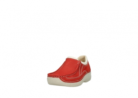 wolky slippers 06206 roll sneaker 10570 rot sommer nubuk_21