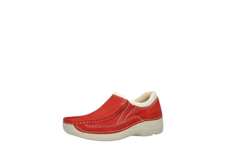 wolky slippers 06206 roll sneaker 10570 rot sommer nubuk_23
