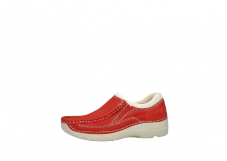 wolky slippers 06206 roll sneaker 10570 rot sommer nubuk_24