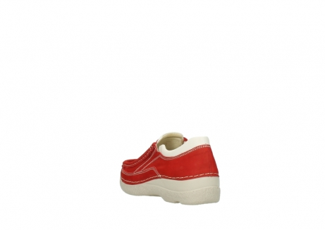 wolky slippers 06206 roll sneaker 10570 rot sommer nubuk_5