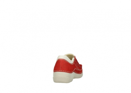 wolky slippers 06206 roll sneaker 10570 rot sommer nubuk_8