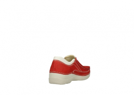 wolky slippers 06206 roll sneaker 10570 rot sommer nubuk_9