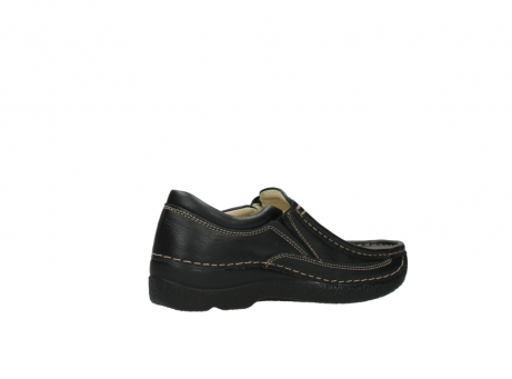 wolky slipons 06206 roll sneaker 70010 black_11