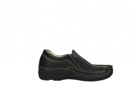 wolky slipons 06206 roll sneaker 70010 black_13