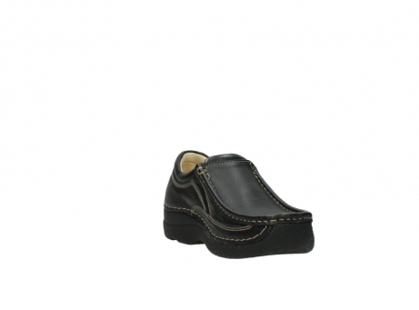 wolky slipons 06206 roll sneaker 70010 black_17