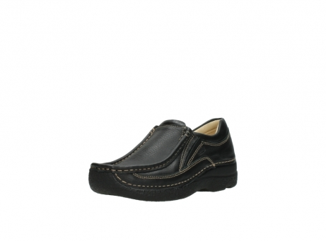 wolky slipons 06206 roll sneaker 70010 black_22