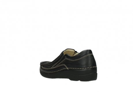 wolky slipons 06206 roll sneaker 70010 black_4