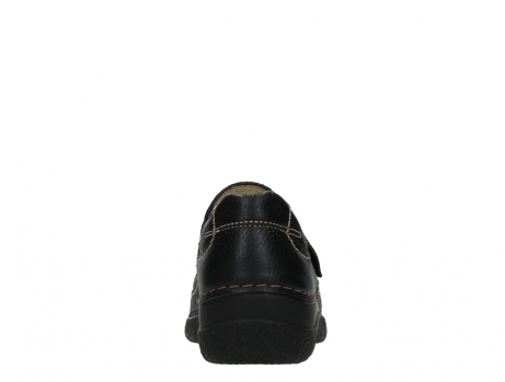 wolky slipons 06221 roll strap 70000 black printed leather_19
