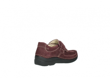 wolky slippers 06221 roll strap 90510 bordeaux nubukleder_10