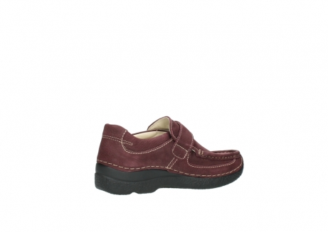 wolky slippers 06221 roll strap 90510 bordeaux nubukleder_11