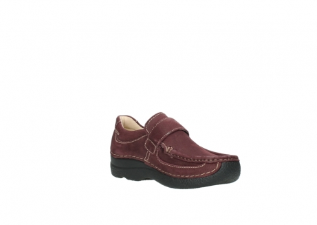 wolky slippers 06221 roll strap 90510 bordeaux nubukleder_16