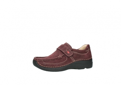 wolky slippers 06221 roll strap 90510 bordeaux nubukleder_24