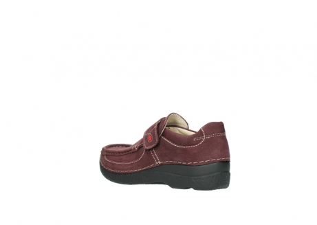 wolky slippers 06221 roll strap 90510 bordeaux nubukleder_4