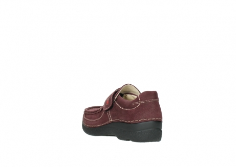 wolky slippers 06221 roll strap 90510 bordeaux nubukleder_5