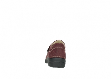 wolky slippers 06221 roll strap 90510 bordeaux nubukleder_7