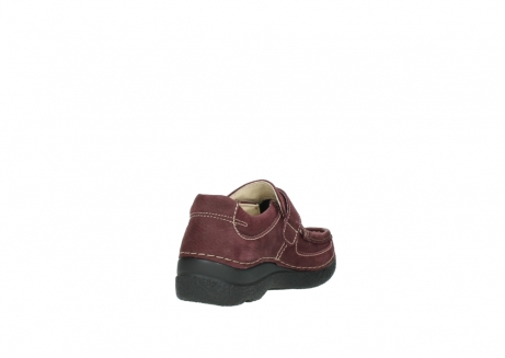 wolky slippers 06221 roll strap 90510 bordeaux nubukleder_9