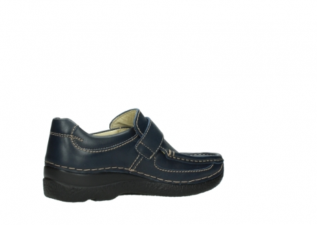 wolky slipons 06221 roll strap 30800 blue leather_11