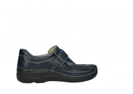 wolky slipons 06221 roll strap 30800 blue leather_12