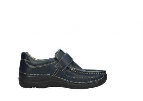 wolky slipons 06221 roll strap 30800 blue leather_13
