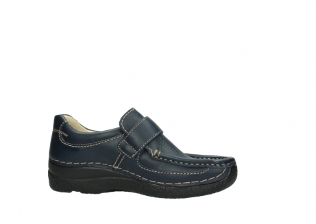 wolky slipons 06221 roll strap 30800 blue leather_14