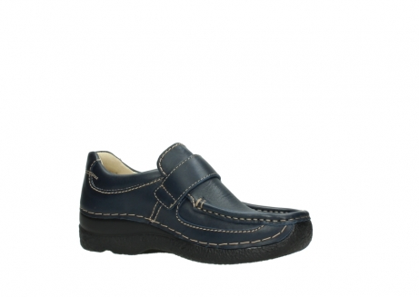 wolky slipons 06221 roll strap 30800 blue leather_15
