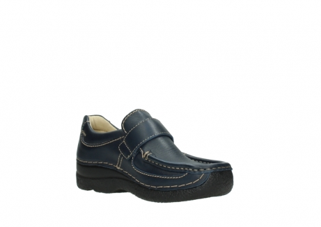 wolky slipons 06221 roll strap 30800 blue leather_16
