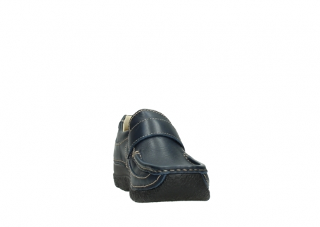 wolky slipons 06221 roll strap 30800 blue leather_18