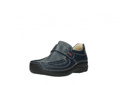 wolky slipons 06221 roll strap 30800 blue leather_22