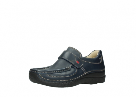 wolky slipons 06221 roll strap 30800 blue leather_23