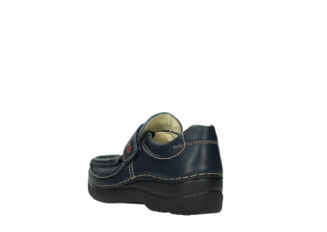 wolky slipons 06221 roll strap 30800 blue leather_5