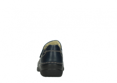 wolky slipons 06221 roll strap 30800 blue leather_7