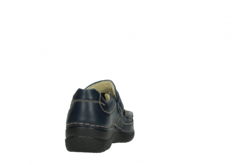 wolky slipons 06221 roll strap 30800 blue leather_8