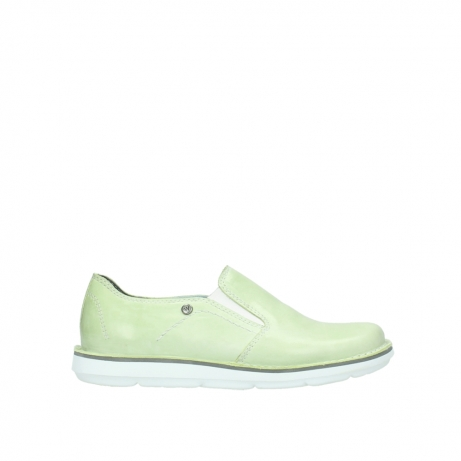 wolky slipons 08476 flint 30750 lime leather
