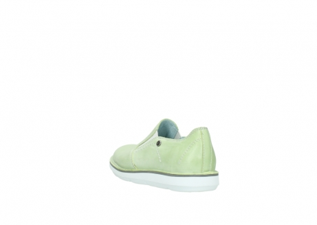 wolky slippers 08476 flint 30750 lime leder_5