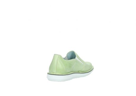 wolky slipons 08476 flint 30750 lime leather_9