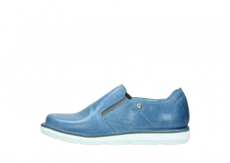wolky instappers 08476 flint 30820 denim leer_1