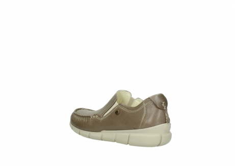 wolky slippers 1511 sekani 715 taupe leder_4
