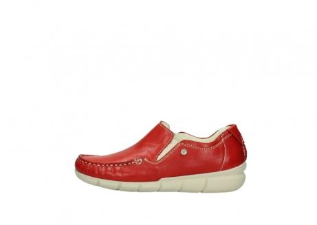 wolky slippers 1511 sekani 757 rot sommer leder_1