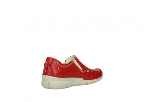 wolky slippers 1511 sekani 757 rot sommer leder_10