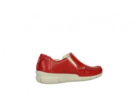 wolky slippers 1511 sekani 757 rot sommer leder_11