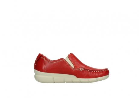wolky slippers 1511 sekani 757 rot sommer leder_13